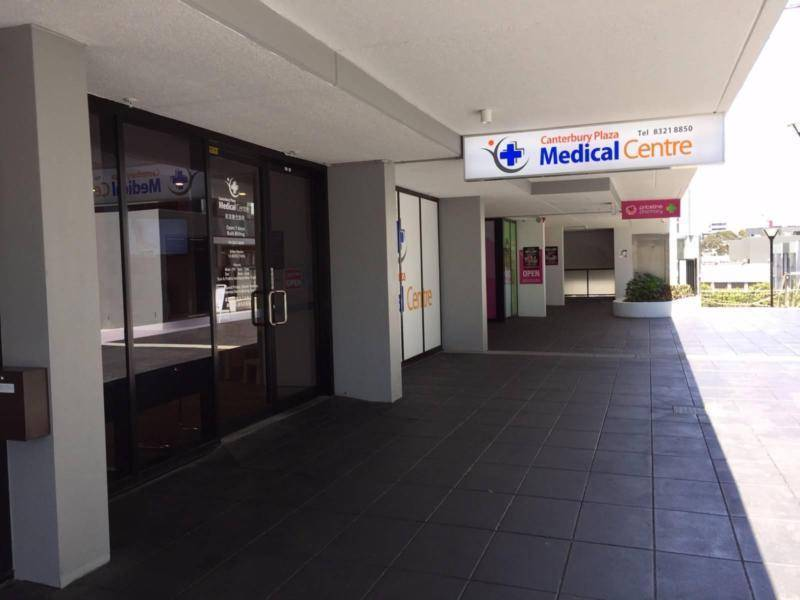 Front view of Medical Centre Canterbury