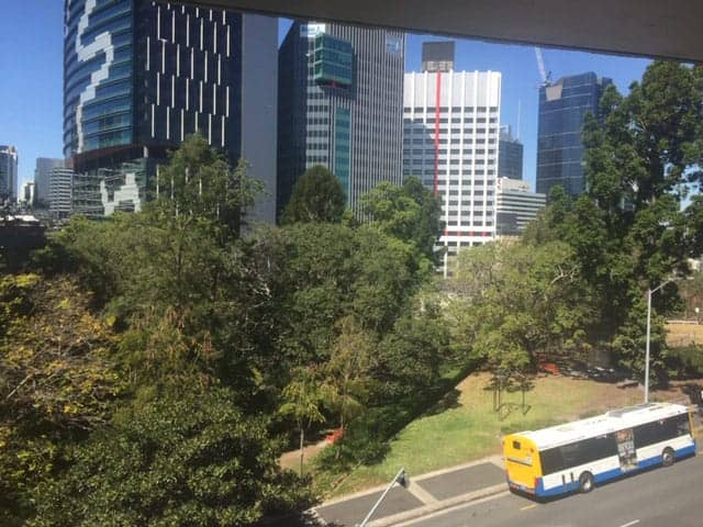City-View from Obstetrician and Gynaecologist Rooms, Wickham Terrace, Brisbane