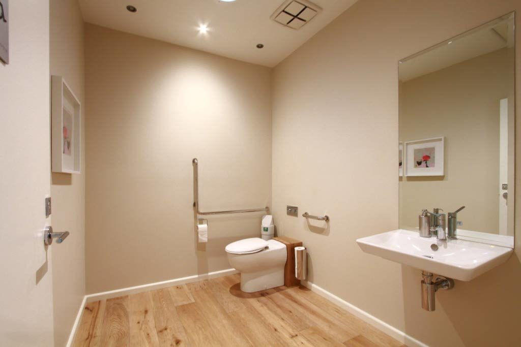 Tidy toilet for Consulting Rooms For Lease Bulleen Victoria